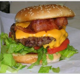 Milts Bacon Cheeseburger